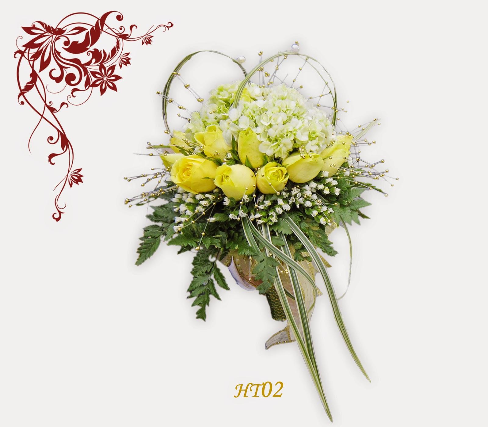 Hoa cưới cầm tay và ý nghĩa các loài hoa
