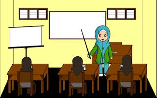 Cerita Pendek Anak Tiga Bahasa (Indonesia-Sunda-Inggris) Aku Ingin Menjadi Guru-Abdi Hoyong Janten Guru-I Will Become a Teacher