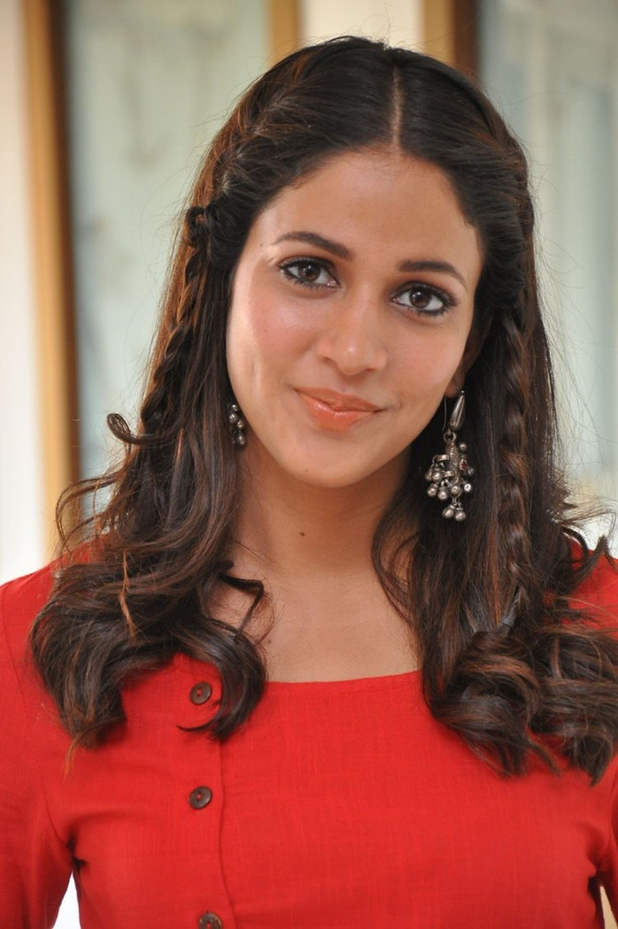 Lavanya Tripathi at Radha Movie Success Meet Stills
