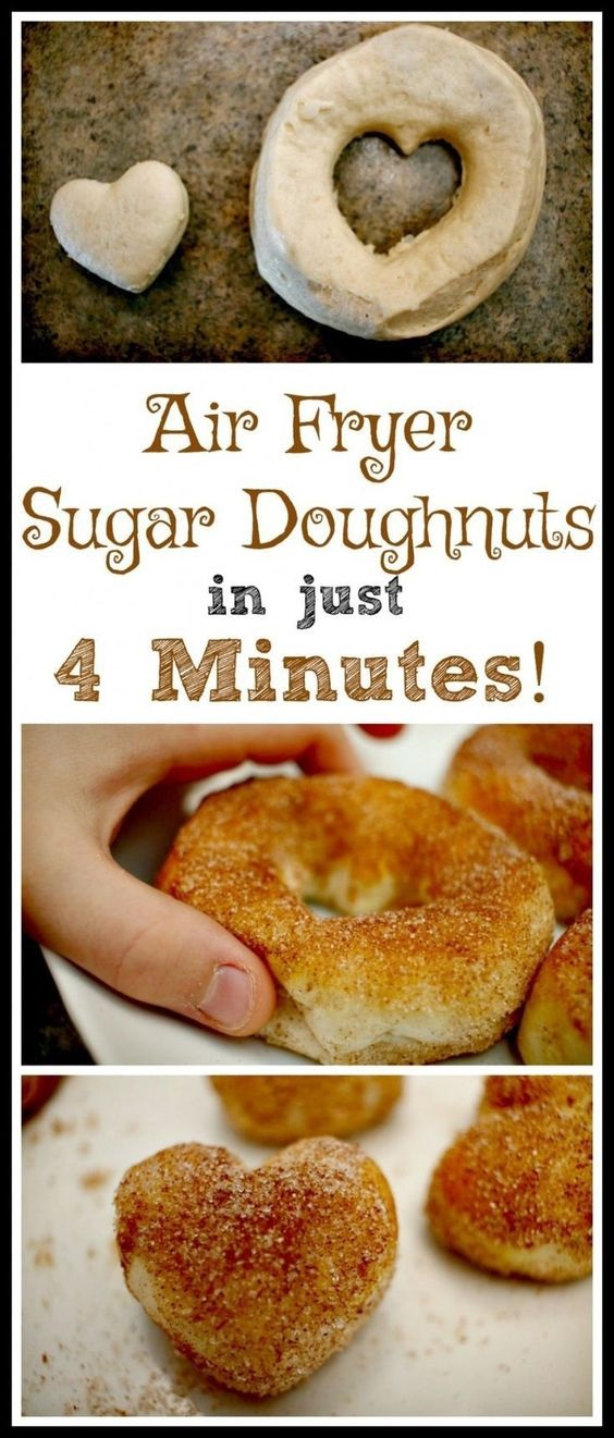 Air Fryer Sugar Doughnut Recipe