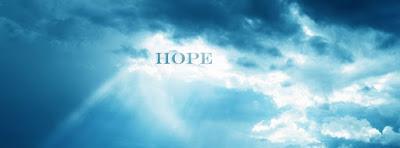 Couverture pour journal facebook sur l'espoir de vivre