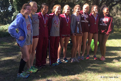 Chiles High girls' cross-country team