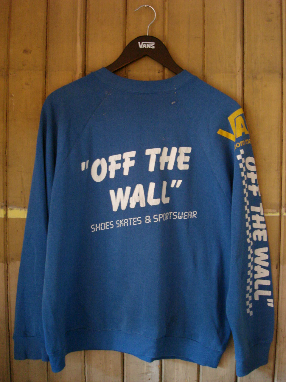 7ff1e6890a theothersideofthepillow  vintage VANS off the wall SWEATSHIRT bmx ...