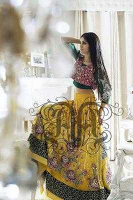 Amna Ajmal bridal wear & groom dresses 2017 collection (8)