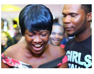 BBNaija Contestant Proposes To His Girlfriend At The Lagos Audition Venue [Photos]