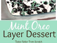 Mint Oreo Layer Dessert