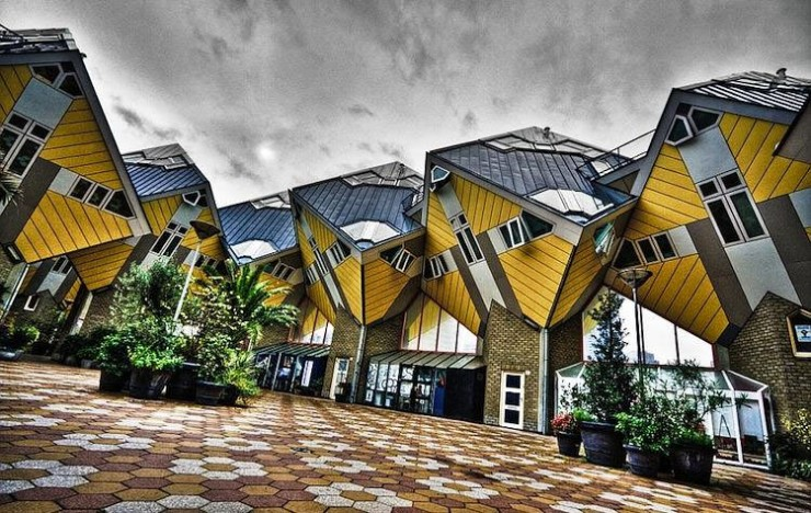 10 Airbnbs That Are So Cool You'll Want To Stay Forever - Cube Houses, Rotterdam, the Netherlands