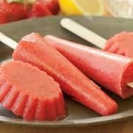 Strawberry Lemonade Ice Cream Popsicles Recipes