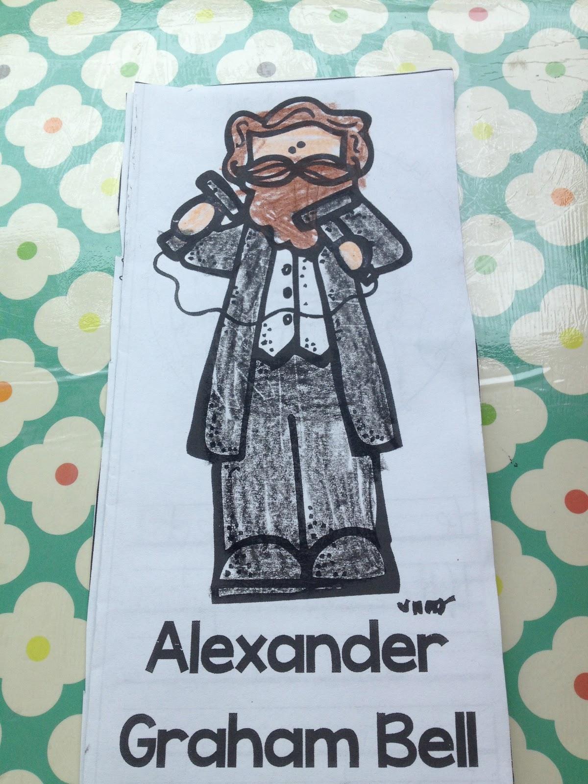Mrs Richardson S Class Alexander Graham Bell And