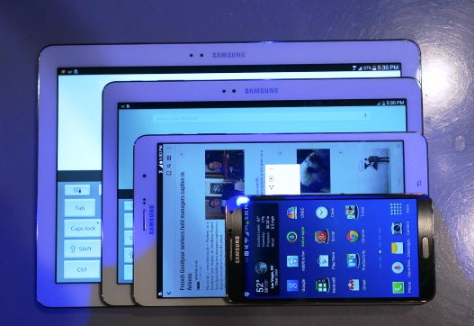 Pro Versions of Galaxy Note and Tab tablets