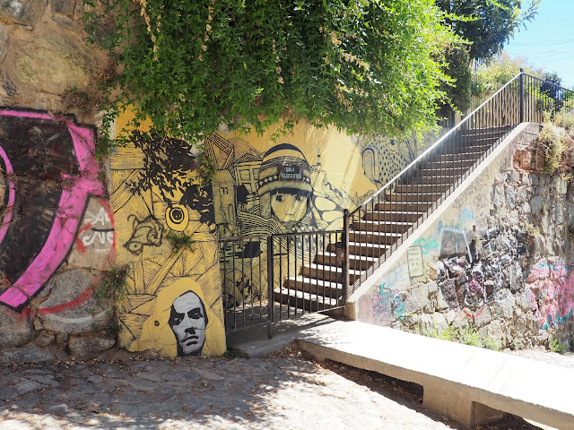 Valparaiso, Streetart