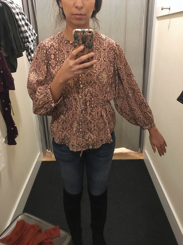 cute madewell top
