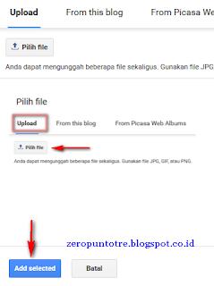 cara mudah memasang gambar di artikel blog