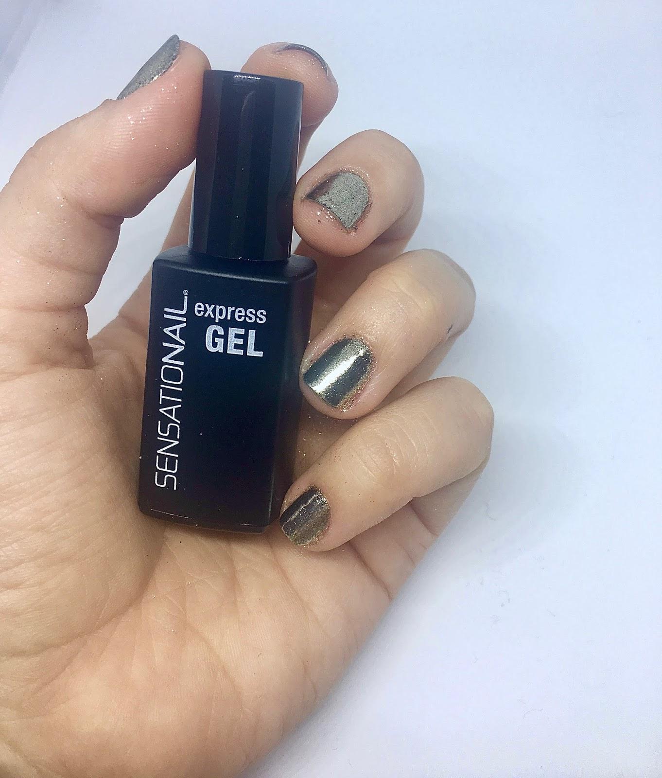 DIY Mirror Powder Nails | Sensationail | lauraxblack