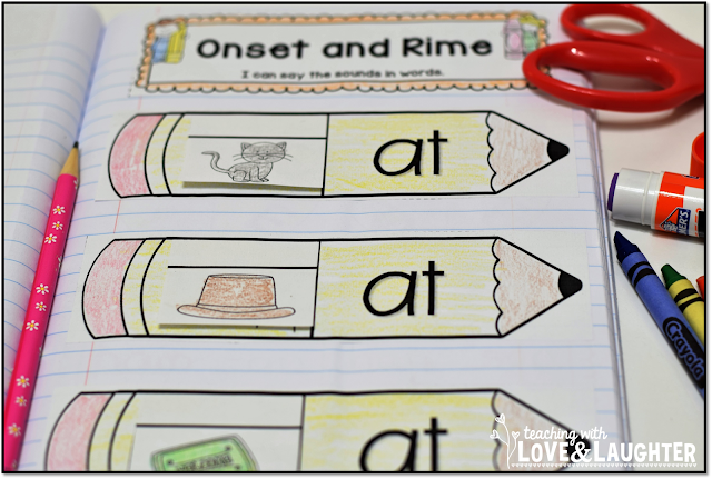 Teaching With Love and Laughter June 2014 – Onset and Rime Worksheets
