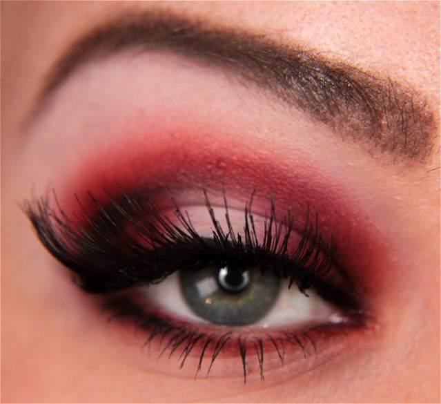 Makeup your Jangsara: Tutorial: Red rebel