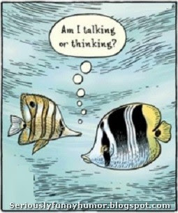 Fish - Am I talking or thinking?