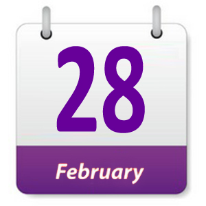 28 Februari 2019