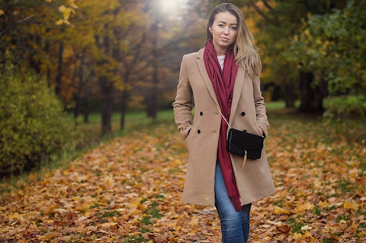 Perfect Autumn Cashmere Scarf