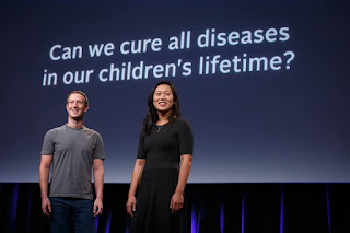 Chan Zuckerberg Initiative invest 3 billion dollars to cure and manage all diseases by the end of the century