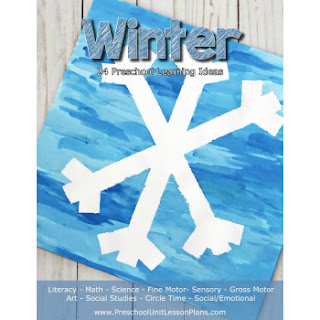 Winter Preschool Unit Lesson Plans