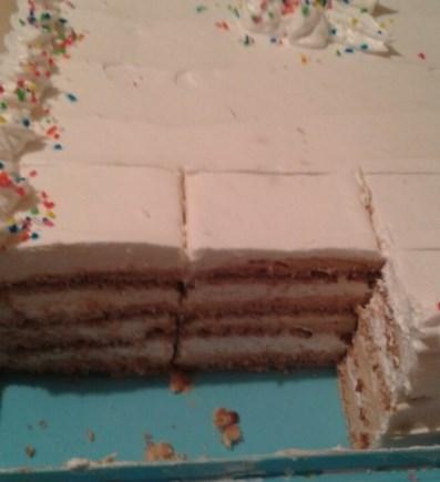 Seherezada torta- Seherezada cake