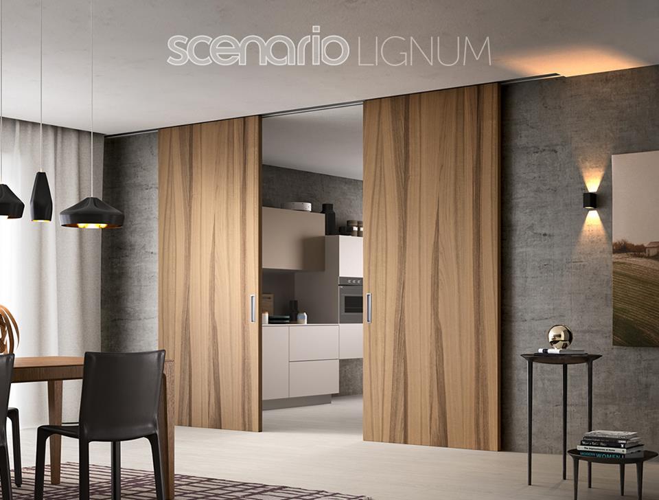 Edil porta genova lignum pareti divisorie di design for Pareti divisorie