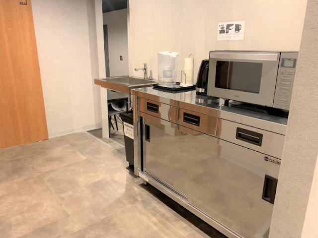 dapur kecil bersih