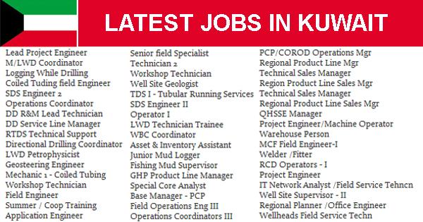 Direct KOC jobs Kuwait Oil Company Technical Assistant- iik