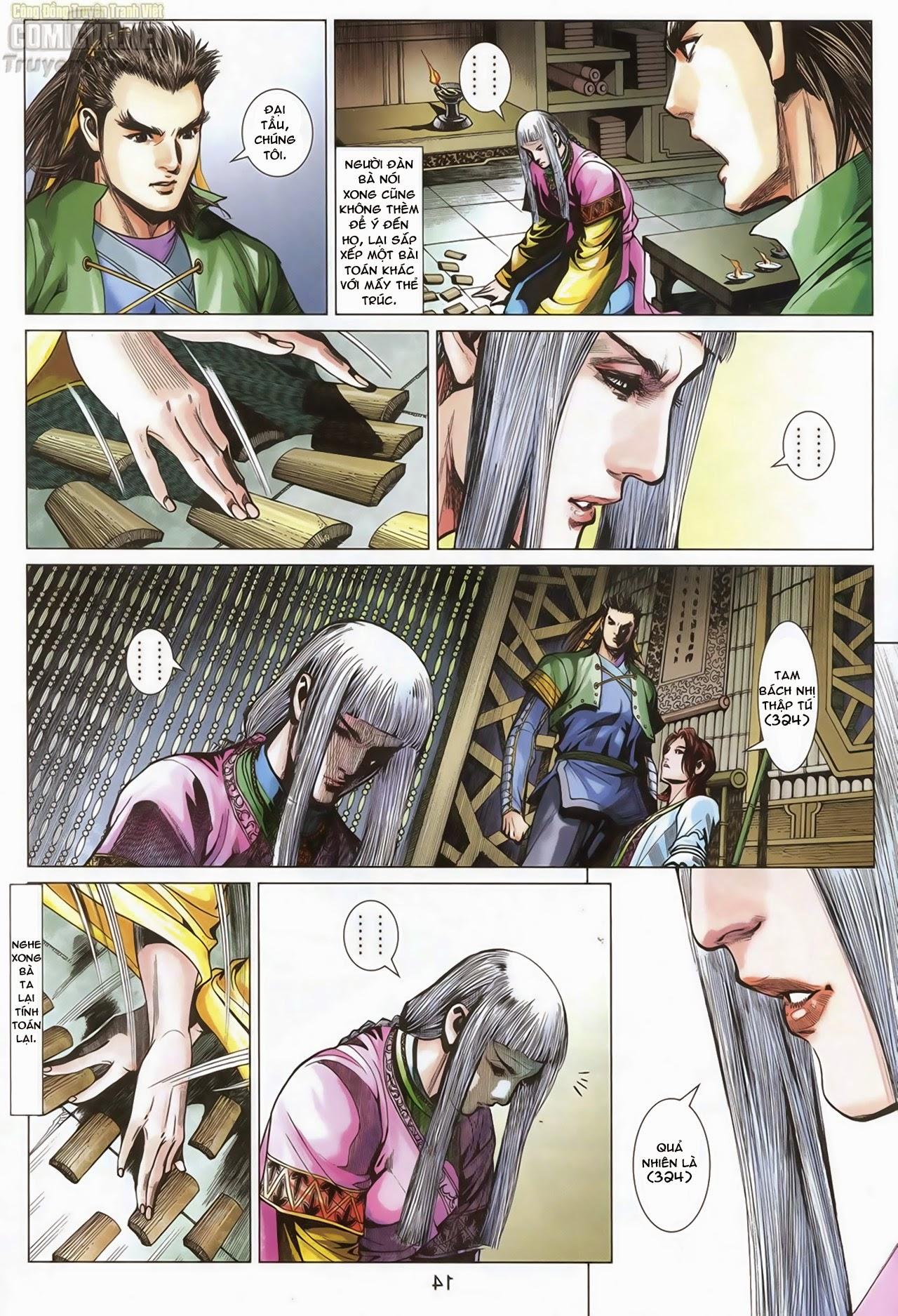 Anh Hùng Xạ Điêu anh hùng xạ đêu chap 70: hắc chiểu ẩn nữ trang 15
