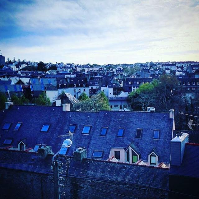 Quimper city view