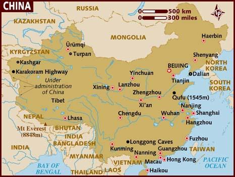 Guangzhou Ems China Map.Aura Logistics Pvt Ltd Aura Network