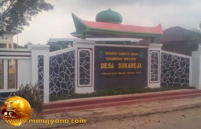 Desa Sukareja, Kecamatan Sukasari. Poto Jepretan Kang Ian Susanto , Facebooker Subang ( FBS ).
