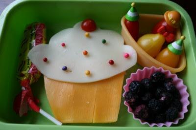 Fun school birthday lunch