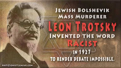 Trotsky - Code for Anti White designed to trigger a negative response