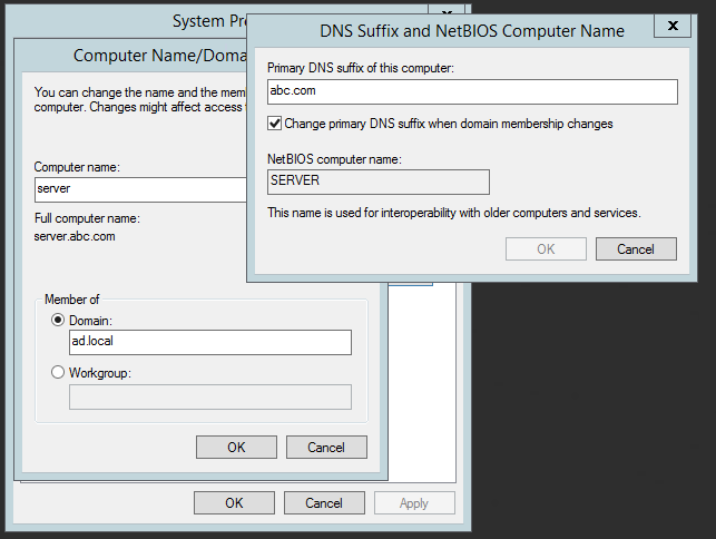 All Things Techie  net: Use Powershell to Change Host's FQDN / Suffix