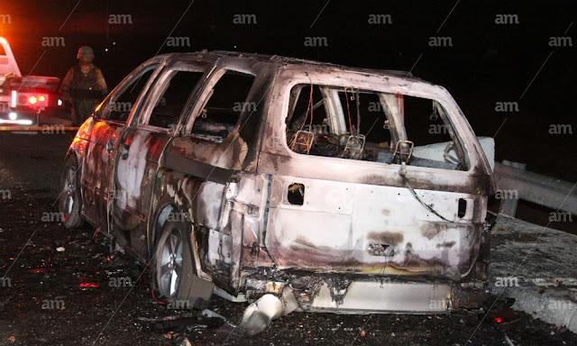 Asesinan a 21 ¡en un sólo día! en Guanajuato, con el tiro de gracia, colgados  e incinerados sabado sangriento