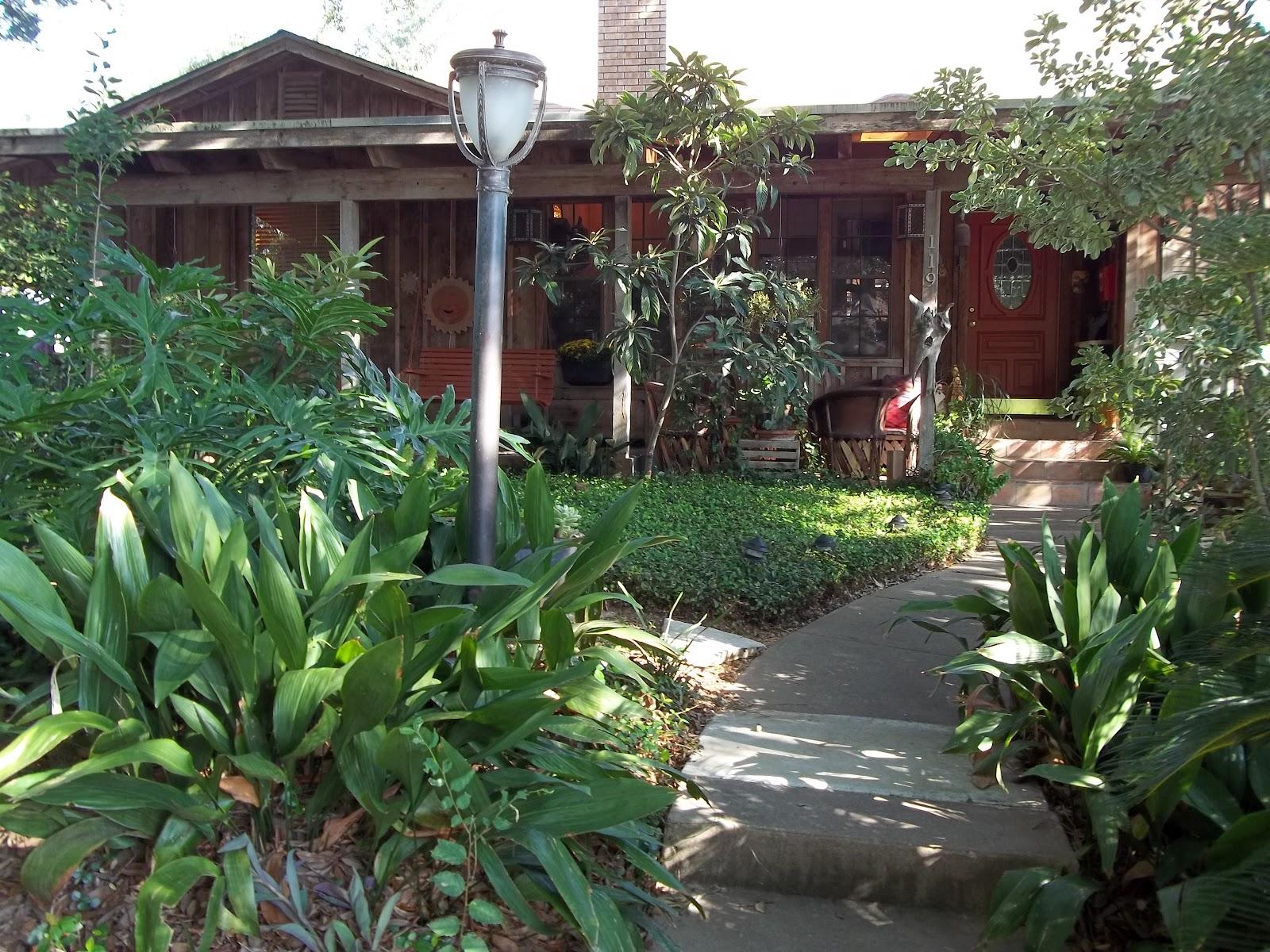 Garden Tour San Antonio Style Texas Eclectic