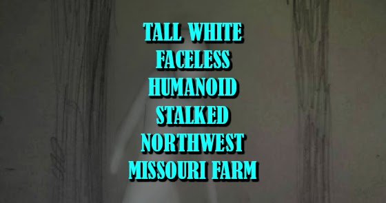Tall White Faceless Humanoid Stalked Northwest Missouri Farm