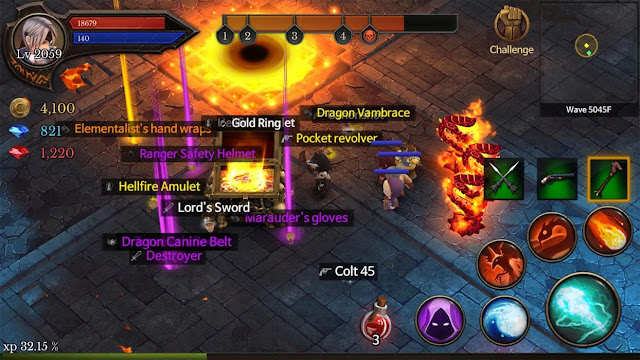 Dungeon Chronicle Screenshot 01