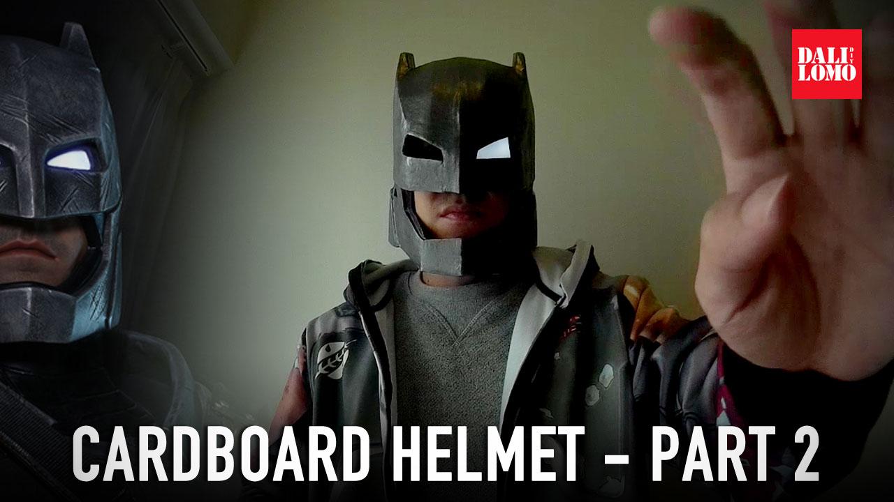 Dali-Lomo: How to make Armored Batman aka Mech Suit Helmet DIY
