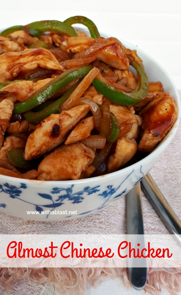 Only 25 Minutes - Prep to Serve ! Quick, delicious, sweet and sour dinner