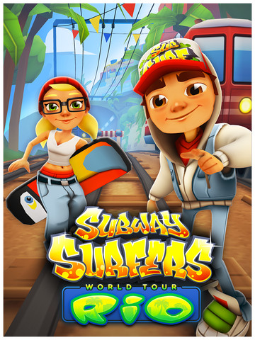 Subway surfers: world tour rio for android download apk free.