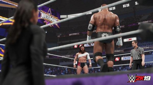Imagens WWE 2K19