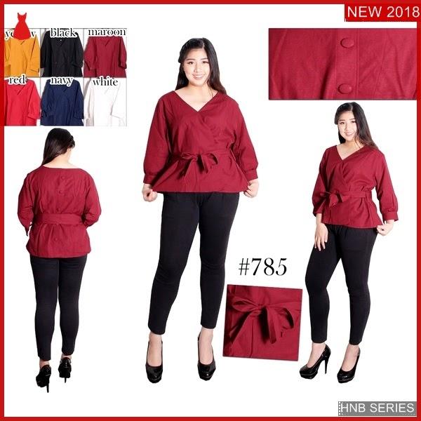 HNB205 Model dress Batik Brokat Super Ukuran Besar BMG Shop