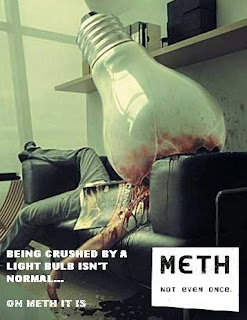 meth not even once being crushed by a lightbulb is not normal but on meth it is, meth not even once, is not normal but on meth it is, meth, meth light bulb, meth lightbulb