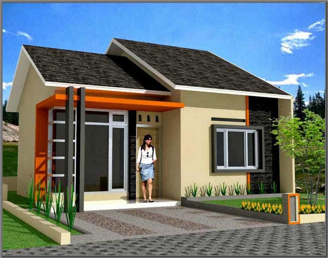 Contoh Desain Rumah  Minimalis  Tipe 36 Terbaru