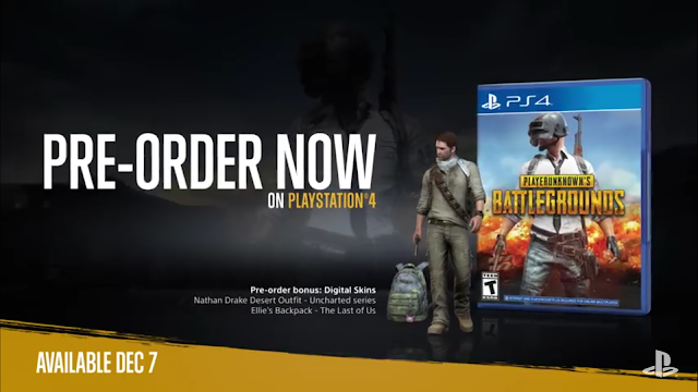 PUBG Ps4 is Confirm Price, Launched Date, and Pre-Order