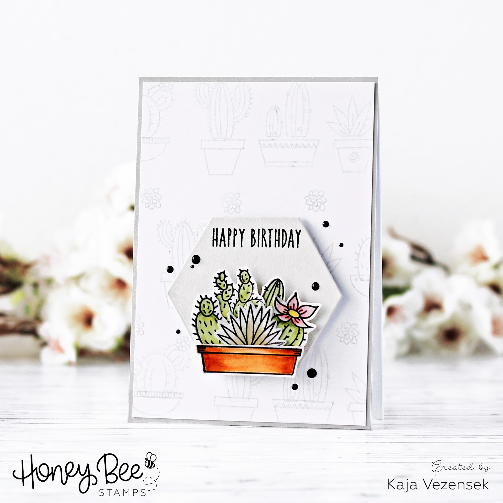 Simple masculine card | HONEY BEE