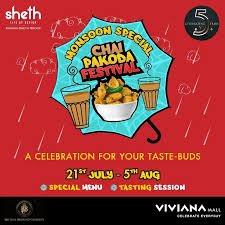 Chai Pakoda Festival hosted by Viviana Mall